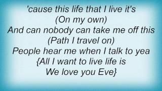 Eve - As I Grow Lyrics