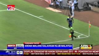 Arema Malang Kalahkan Klub Malaysia Di Trofeo