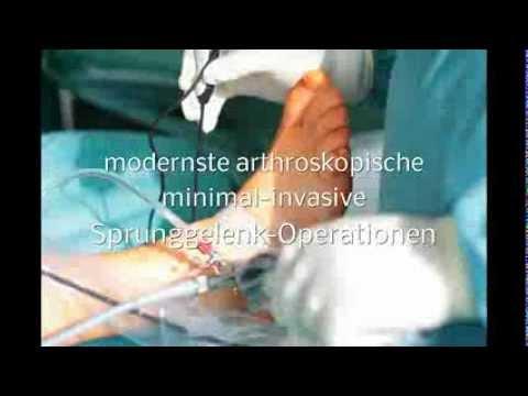 Laservaporisation Scheibe im Bereich der Halswirbelsäule