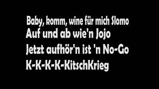 KitschKrieg Feat Gzuz    Standard (lyrics)