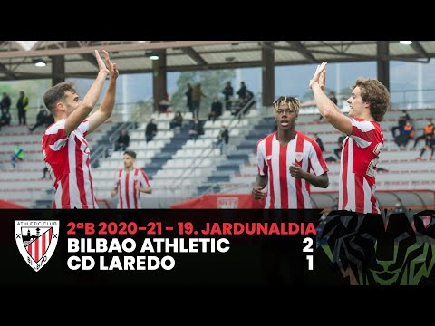 ⚽ Resumen I J19 2ªDiv B I Bilbao Athletic 2-1 CD Laredo I Laburpena