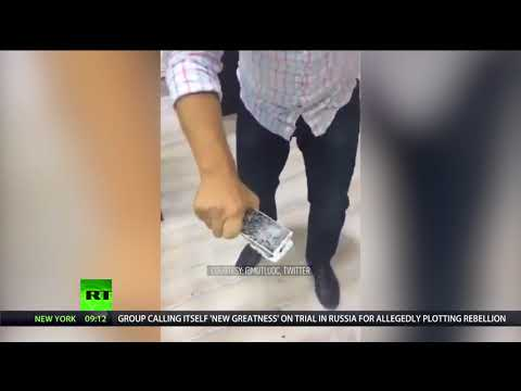 Apple of Discord: Turks smash their iPhones amid Ankara's economic spat with USA