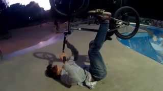 preview picture of video 'How to land a BMX tailwhip - learning - training trick :-)'