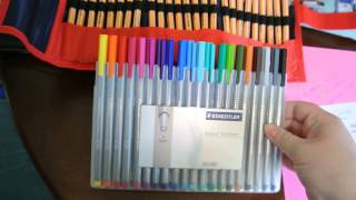 Filofax and Letter Writing Felt Tip Pen Wars!!!