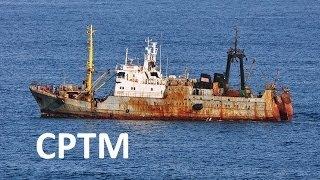Средний рыболовный траулер срт 300 с ютом