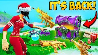 *RARE* CHESTS ARE BACK + SNOW IS MELTING!! - Fortnite Funny Fails and WTF Moments! #794