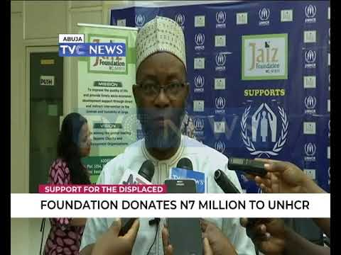 Foundation donates 7million to UNHCR
