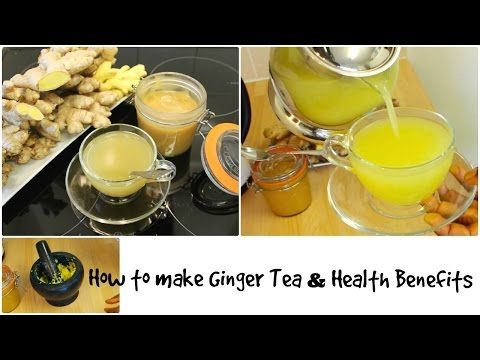 Video Ginger Tea With Honey Recipe with Health Benefits Boost Your Immune System for Cold Weight Loss
