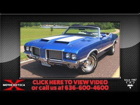 Video of Classic '72 Cutlass 422 located in St. Louis Missouri - NO0D