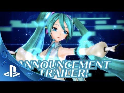 Hatsune Miku: Project Diva X - Announcement Trailer | PS4 thumbnail