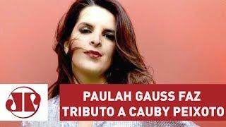 Paulah Gauss no Programa Em Cartaz