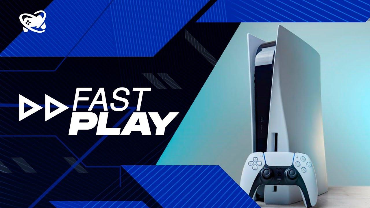 Fast Play (24/09): Sistema do PS5 ainda receberá muitas novidades!