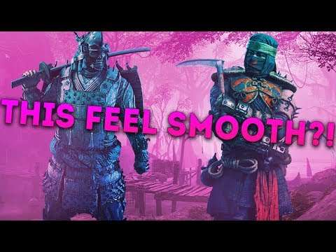 For Honor DEDICATED SERVERS! – KENSEI vs SHINOBI & NOBUSHI! – THIS FEELS SMOOTH?!