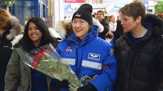 Expedition 61 Crew Receives a Warm Welcome in Kazakhstan