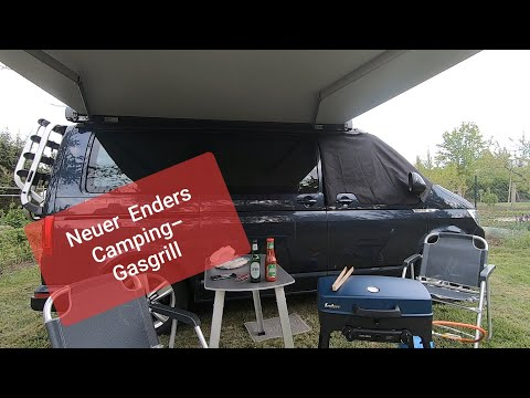 Mein neuer  Enders Camping-Gasgrill