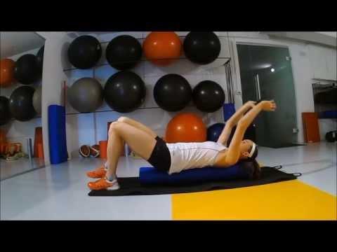 1/24 - Pilatesrolle - Basisübung
