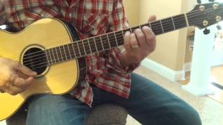 Fool if you think it's over - Chris Rea lesson