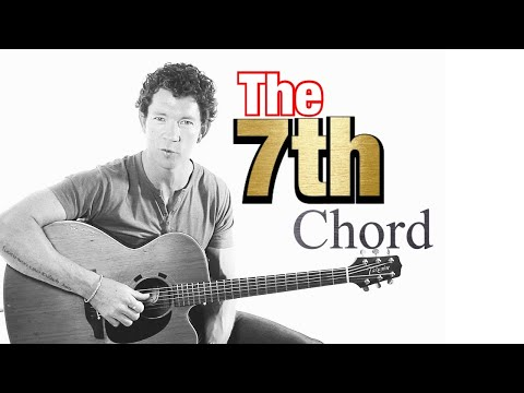 Beginner Guitar Chords 14 - Chord progression using 7th chords