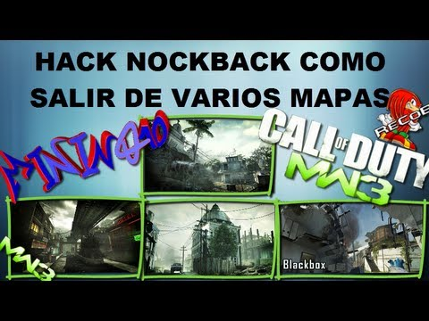 Truco MW3 Hack/Mods KnockBack Salir de Mission,Bootleg,Bakaara y Blackbox ReCoB
