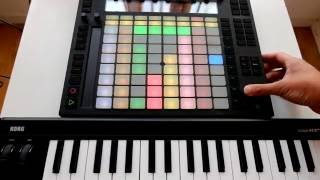 K-TN - Verso (Live version with Ableton Push)