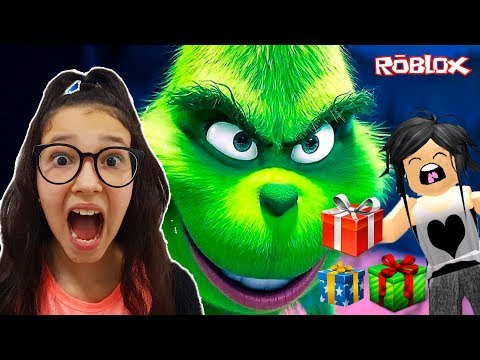 Roblox Saving Christmas With My Mom The Grinch Obby Sophie