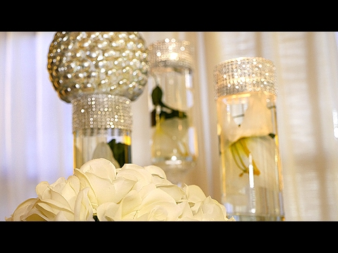 DIY | Dollar Tree Wedding Bling Centerpieces Mp3