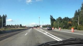 Canada Hwy 1 West 176th Street Surrey Exit 53 /USA Truck Crossing