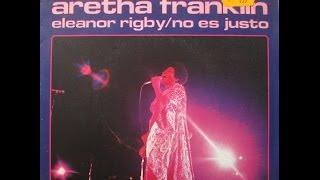 """Aretha Franklin - Eleanor Rigby / It Ain't Fair - 7"""" Spain - 1969"""