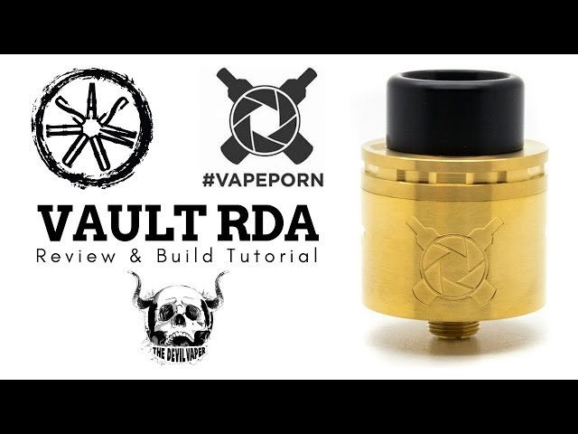 VAULT RDA by VAPE PORN & ASMODUS - Review & Build Tutorial