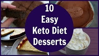 10 Easy Keto Desserts | Easiest Low Carb Dessert Recipes