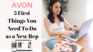 First Steps for New Avon Reps   2020