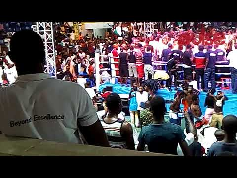 Video: Fans thrown into wild jubilation over Bukom Banku's defeat