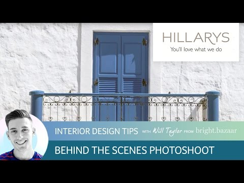 Behind the scenes at Will Taylor's Greek Dream Photoshoot with Hillarys YouTube video thumbnail