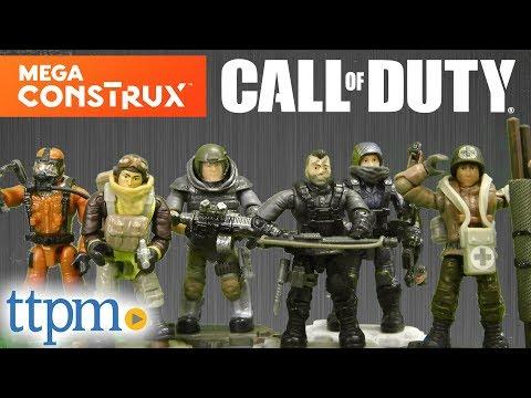 Mactavish Mega Construx Call Of Duty Series 2 Set Of 6 Specialist Figures Ace Medic Yuri Outrider M B Hazmat Action Figures
