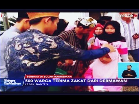 Warga di Lebak Jalan Kaki 5 Km, demi Menjemput Zakat dan Paket Lebaran - iNews Siang 04/06