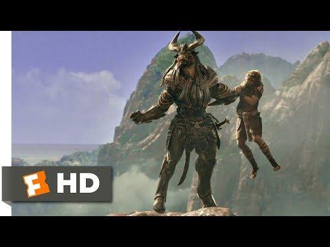 Gods of Egypt (2016) - Minotaur Attack Scene (4/11) | Movieclips