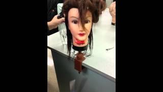 0 degree haircut