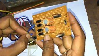 How To Make AC To DC (12V-0-12V) Dual Power Supply Circuit Using Transformer