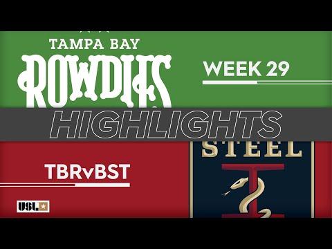 Tampa Bay - Бетлехем 6:1. Видеообзор матча 22.09.2019. Видео голов и опасных моментов игры