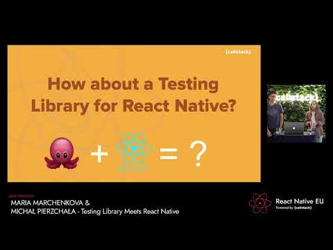 Image thumbnail for talk Testing Library Meets React Native