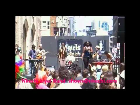 """Nkechi Live! Band """"Heaven On Earth"""" / """"By Your Side"""" [Originals]"""