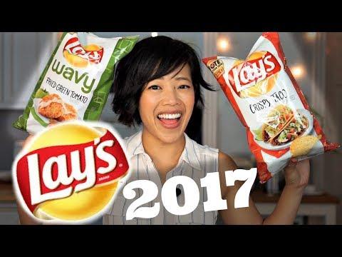 LAY'S Do US a Flavor 2017 Taste Test