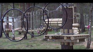 Парк развлечений «Тарзан» ждет жителей и гостей Даугавпилса