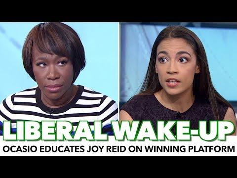 , title : 'Ocasio-Cortez Educates Joy Reid On How To Win With Policy'