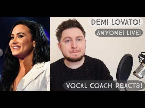 Vocal Coach Reacts! Demi Lovato! Anyone! Live @ The Grammys 2020!