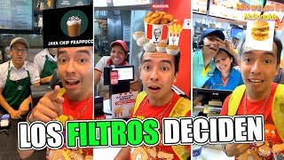 Pidiendo Lo Mismo que Salga en El Filtro por 24 Horas (Starbucks, McDonalds y Más) - Ami Rodriguez