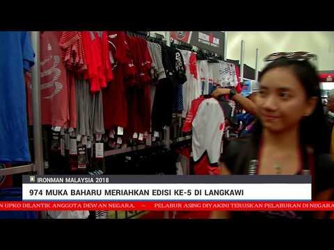 974 Muka Baharu MeriahkanIronman Malaysia 2018Di Langkawi