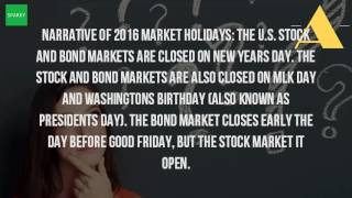 Is The Stock Market Open On Good Friday?