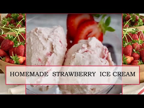 Video RHUBARB and STRAWBERRY ICE CREAM