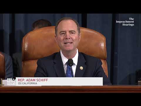 WATCH: Trump wouldn't allow himself to be 'led by the nose' Schiff says | Trump impeachment hearings